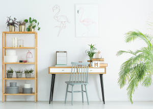 Storage in Home Office Design