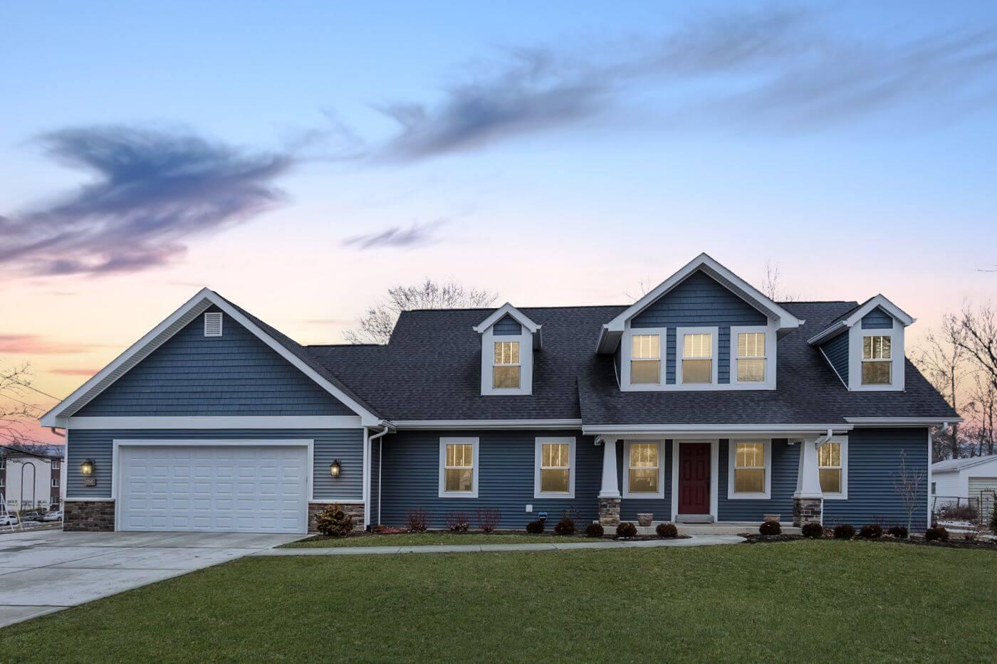 Better built, energy efficient home